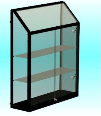 Inhang & Wand vitrines