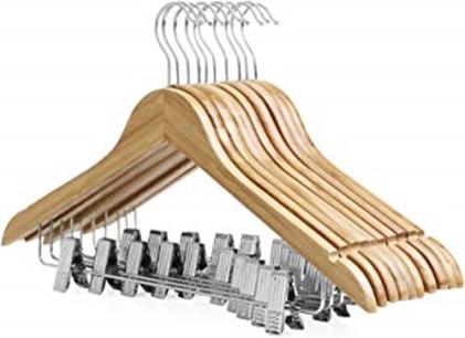 Hout kleding hangers