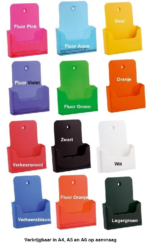Folderhouders in kleur