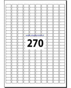 Etiket tbv beprijzing, tekst/logo 270 stuks