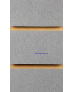 1.Alu geborsteld slatwall met profielen 100 mm