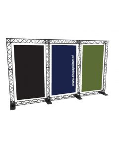 Banner Triple Stand
