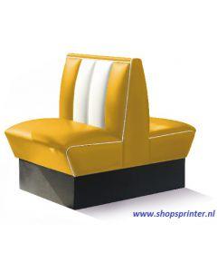 Bel Air Bank geel/wit