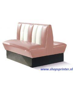 Bel Air Bank roze/wit