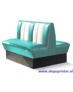 Bel Air Bank turquoise/wit