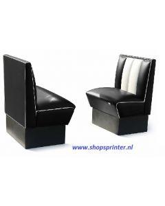 Bel Air Bank zwart/wit