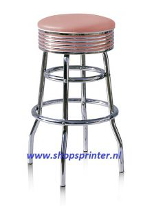 Bel Air Barkruk roze