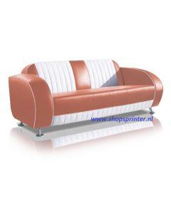 Bel Air Sofa roze/wit