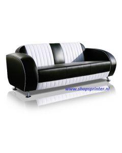 Bel Air Sofa zwart/wit