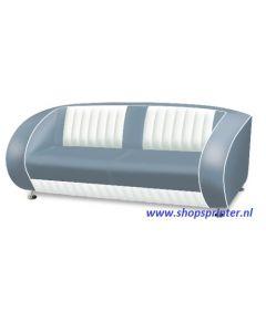 Bel Air Sofa blauw/wit