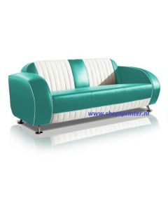 Bel Air Sofa turquoise/wit
