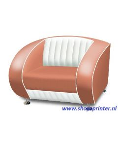 Bel Air Sofa roze/wit