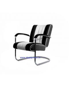 Bel Air Stoel zwart/wit