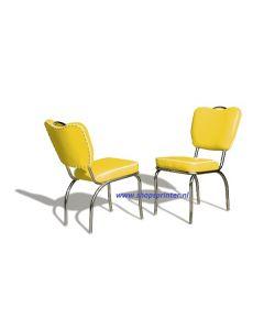 Bel Air Stoel geel