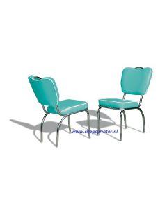 Bel Air Stoel  turquoise