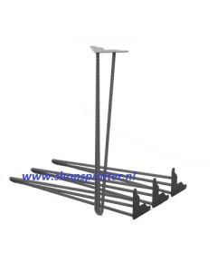 Magut reinforced steel tafelpoten