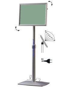 Multifunctioneel menubord LED vrijstaand model