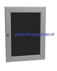 Wissellijst vitrine waterdicht/afsluitbaar A4