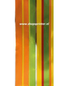 Cadeaupapier, kadopapier, inpakpapierStrepen Lengte 100 mtr