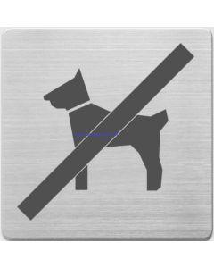 Pictogram hond niet toegestaan