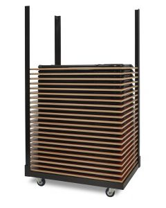 Klaptafel transportwagen voor tafels 900x600 mm