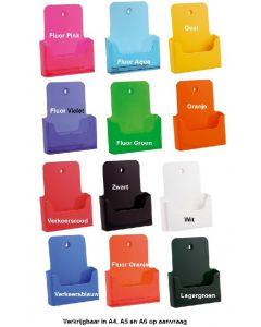 Folderhouders A5 of A4 in kleur