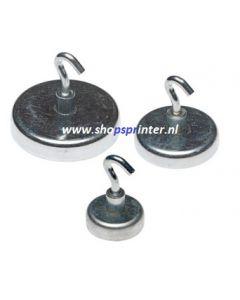 Magneethaak rond zilver