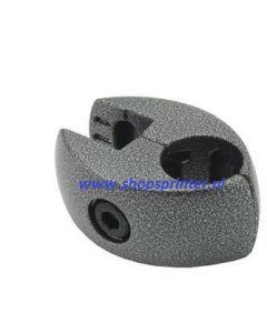 Paneel-buisklem 18/25 mm in hamerslag