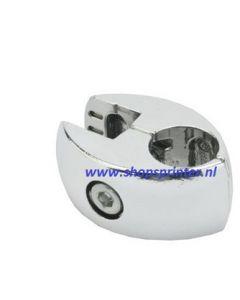 Paneel-buisklem 18/25 mm in chroom