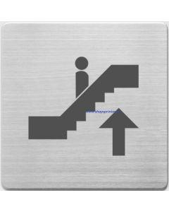 Pictogram roltrap naar boven