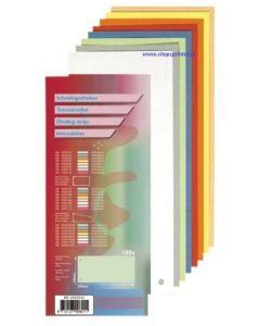 Scheidingsstrook in div kleuren