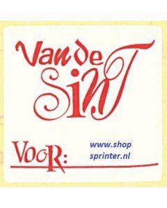 Van St.Nicolaas wt/rd